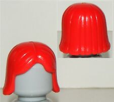 NEW LEGO RARE OLD CLASSIC RED FEMALE MINIFIGURE HAIR PART X1 CASTLE