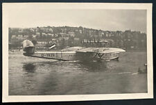 1933 Koblenz Germany RPPC Postcard Cover To Karlsruhe DOX Seaplane