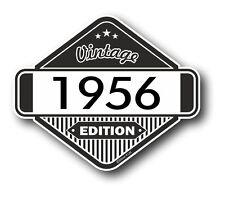 Vintage edition 1956 rétro classique cafe racer style vinyle moto autocollant voiture