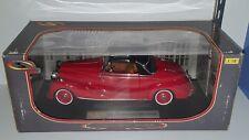 1/18 SIGNATURE MODELS 1950 MERCEDES-BENZ 170S CABRIOLET RED yd