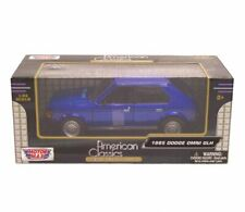 1970 Ford Mustang Boss 429 Blue 1/24 Diecast Model Car by MOTORMAX 73303
