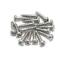 "(16) Gotoh Nickel Phillips 3/8"" Guitar/Bass Tuner Mounting Screws GS-3376-001"