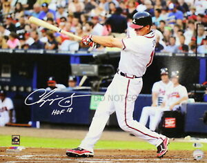 Chipper Jones Autographed Signed MLB Atlanta Braves 8x10 Photo HOF REPRINT