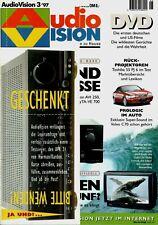 Film-Zeitschrift # Home Entertainment # AudioVision # Heft 03/1997 # Mai-Juni