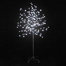 Arbre lumineux à fleurs 200 led Lumière Blanche Sapin de noël  Décoration  H 150