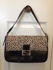 Women Handbags shoulder bags Danier Genuine leather black