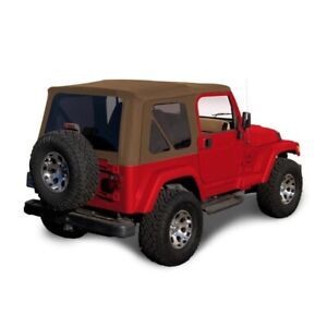 1997-2006 Jeep Wrangler TJ Soft top Replacement & Tinted Windows Spice Sailcloth