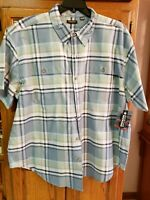 NWT Ridgecut Toughwear Men's Shirt Size 2XL Button Down Top