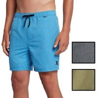 "Hurley Men's One & Only Heathered Volley 2.0 17"" Boardshorts"