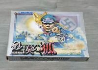 SABAKU NO KITSUNE / FC NES Nintendo Famicom software Japanese version