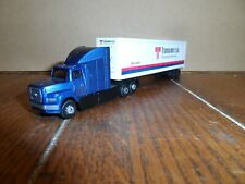 Ho Scale Ford Tractor And 40 Ft. Box Trailer Transamerica