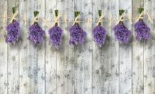 VLIES Fototapete-LAVENDEL- 2174 -Wiese Pflanzen Blumen Blüten Orchideen Deco xxl