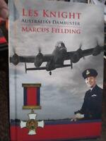 Australian WW2 Dambuster Raid RAAF Pilot Bio Les Knight New Book