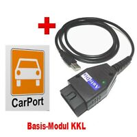 AutoDia K509 mit CarPort-Diagnose Software Basis-Modul KKL USB Diagnose Interf