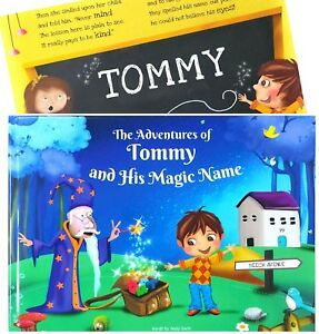 Personalised Childrens Story Book, Unique Birthday, Christening Gift - Paperback