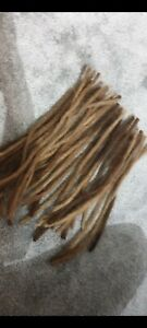 Real human hair dreadlocks extensions