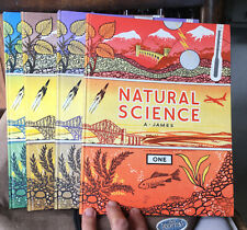 NATURAL SCIENCE BOOKS 1 to 4 - 1960 Volumes in SUPER CONDITION - ILLUSTRATED