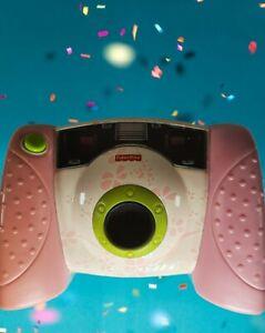 Fisher Price Kid Tough Digital Camera Pink Toy Flowers 2006
