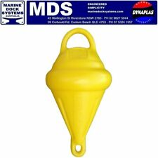 MOORING MARKER BOUY YELLOW WITH HANDLE MOOR BOATS JETSKI FLOAT FOAM FILLED NEW