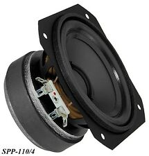 Monacor Kompakt Tief- Mitteltöner SPP-110/4 60Wmax 90db/W 4Ohm 110mm