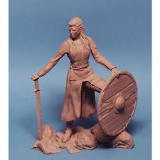 1:24 75mm Viking Female Resin Figure Model Kit Unassambled Unpainted