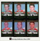 2001 Teamcoach Trading Cards Silver Prize Team set St. Kilda (6)