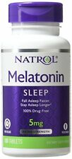Natrol Melatonin Time Release 5mg Tablets 100ct -Expiration Date 07-2020-