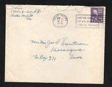 Cedar Rapids, Iowa--1946 Slogan Cancel Cover