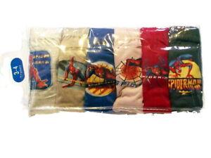 New BNIP Spiderman boys kids Undies Briefs jocks 6 pack cotton underwear