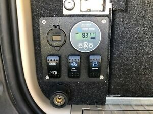 Enedrive OR Victron Smart Battery Monitor Mounting panel *** UV stable ***