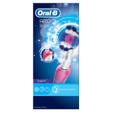 Oral-B Pro2 3DWhite Electric Rechargeable Toothbrush Pressusre Control 2000W NEW