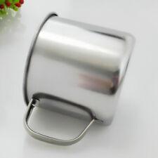 1XStainless Steel Coffee Tea Mug Cup Outdoor Camping Hiking Practical Water Cup