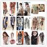 Fashion Ladies Women's Long Soft Wrap Shawl Scarf Pashmina Stole Scarves
