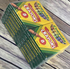 Crayola Crayons 8/Package 12-Pack Bulk New