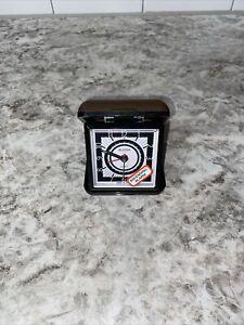 Bulova Quartz Travel Folding Alarm Clock