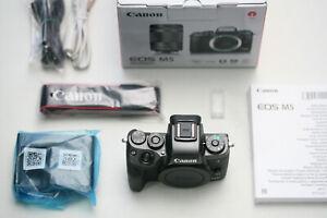 Canon EOS M5 Body, sehr guter Zustand!