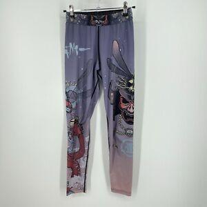 Tatami Fightwear Pants Leggings- Womens Size sz M meerkatsu Dragon Fly