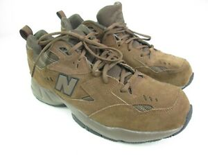 New Balance Mens 608 MX608ODB Brown Suede Hiking Walking Comfort Shoes Size 11 D