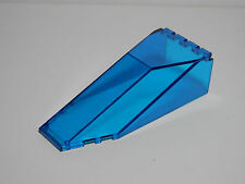 LEGO LEGOS  -  One Trans-Dark Blue Windscreen 10 x 4 x 2 1/3 Canopy