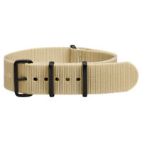 PREMIUM PVD NATO Ballistic Nylon Military Replacement Watch Strap