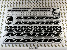 MARIN Stickers Decals Bicycles Bikes Cycles Frames Forks Mountain MTB BMX 58U