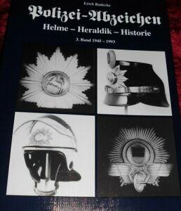 Buch Radecke Polizei Police Tschako Mütze Hut Abzeichen