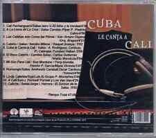 rare SALSA cd CUBA LE CANTA A CALI Pedrito Calvo ZUNZUN DE LA SALSA yamuri