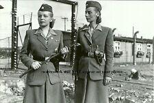 German Female Guards PHOTO World War II, Prison Camp Women