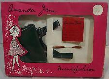 Vintage 1960 s Boxed Amanda Jane budget Satchel Set 1112 minifashion Accessoires