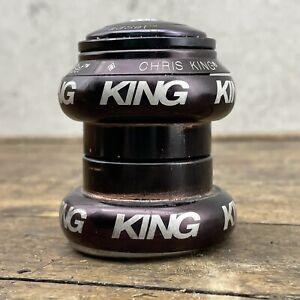 "Chris King Head Set NoThreadSet 1 1/8"" Head Set Vintage MTB Bicycle"