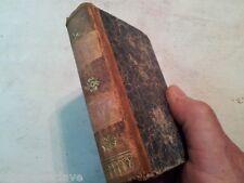 HISTOIRE DE GIL BLAS SANTILLANE LESAGE PARIS 1822 Siglo XlX Libro Usado Viejo