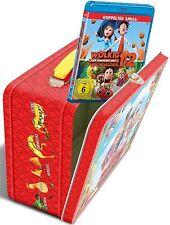 WOLKIG MIT AUSSICHT AUF FLEISCHBÄLLCHEN 1+2 (Blu-ray) Geschenk-Set Lunch Box NEU