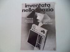 advertising Pubblicità 1970 RADIO PHILIPS IC