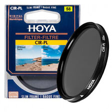 vendedor del Reino Unido * Filtro Polarizador Circular Hoya-estructura Delgado 67mm